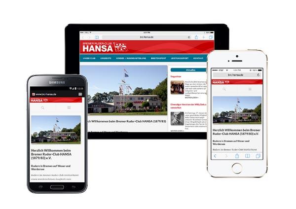 Texte und Inhalte für die Website